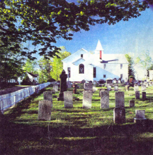 Picture of the Churchyard cemetery.